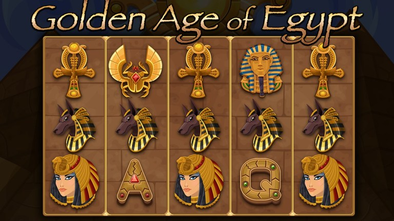 Golden Age of Egypt Slot Machine