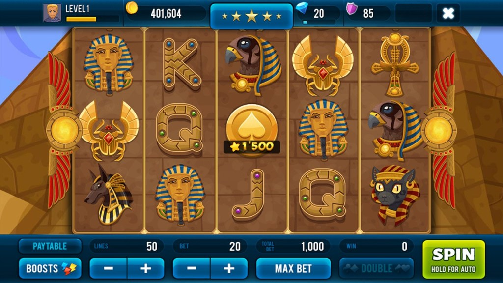 Screenshot #2 of Golden Age of Egypt  Slot Machine