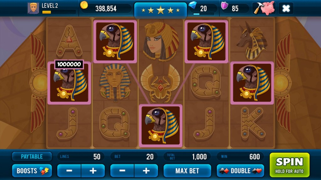 Free Slot Machine Golden Age of Egypt - Screenshot #4
