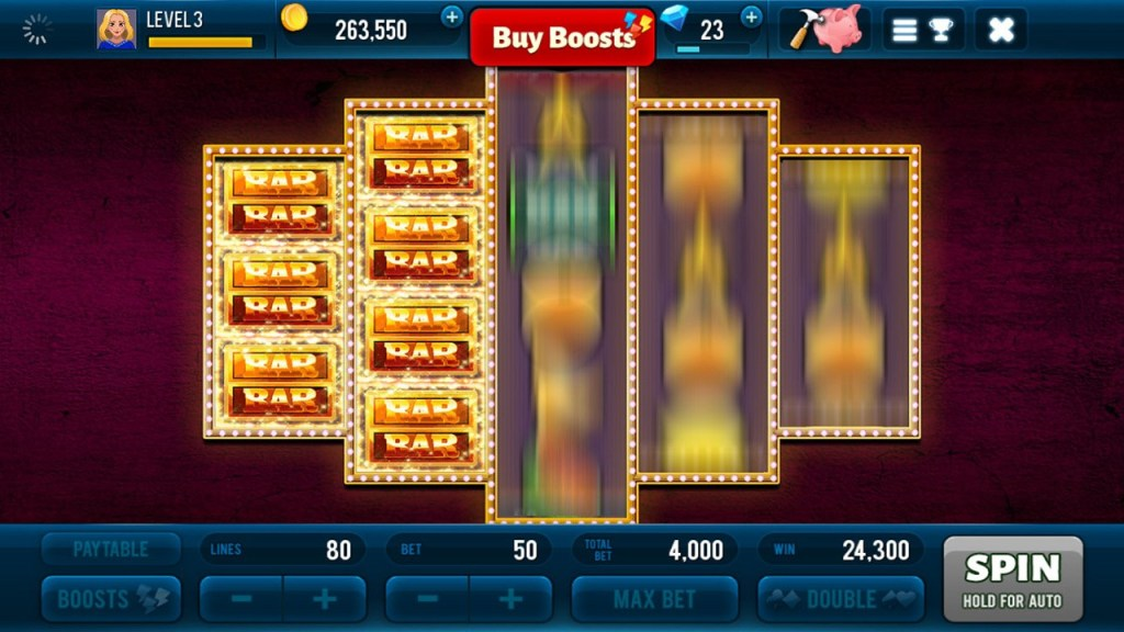 Golden Bars Slots 4
