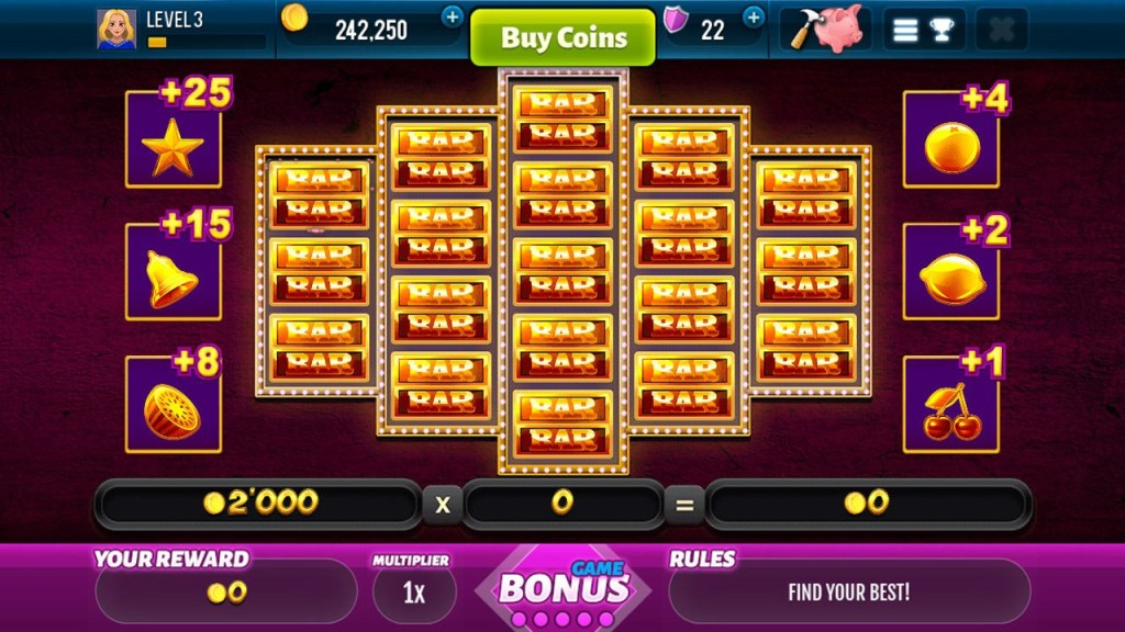 Golden Bars Slots Screen 4