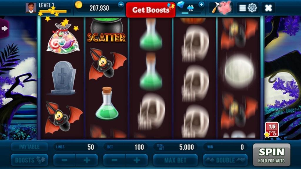 Halloween Jackpot Win Slots Screen 1