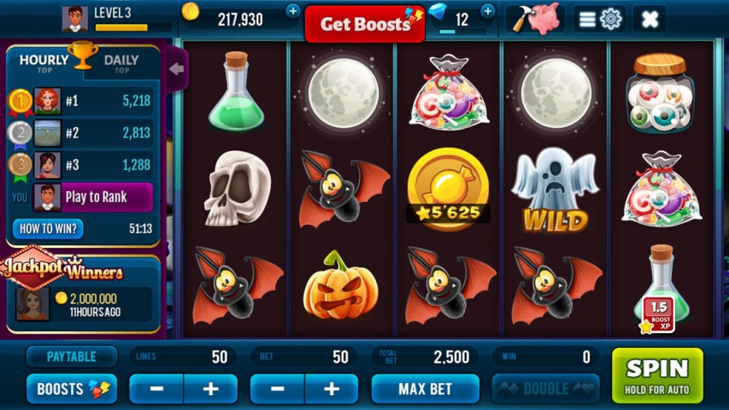 Halloween Jackpot Win Slots Screen 3