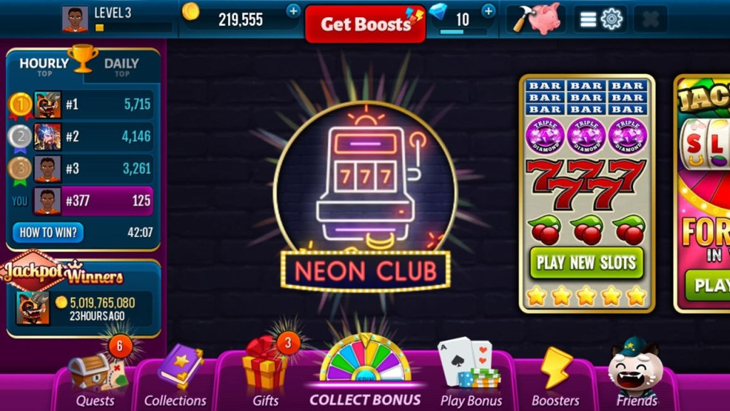 Neon Club Slots - Free Casino Game - Screen #1