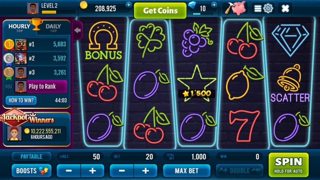 Neon Club Slots 5