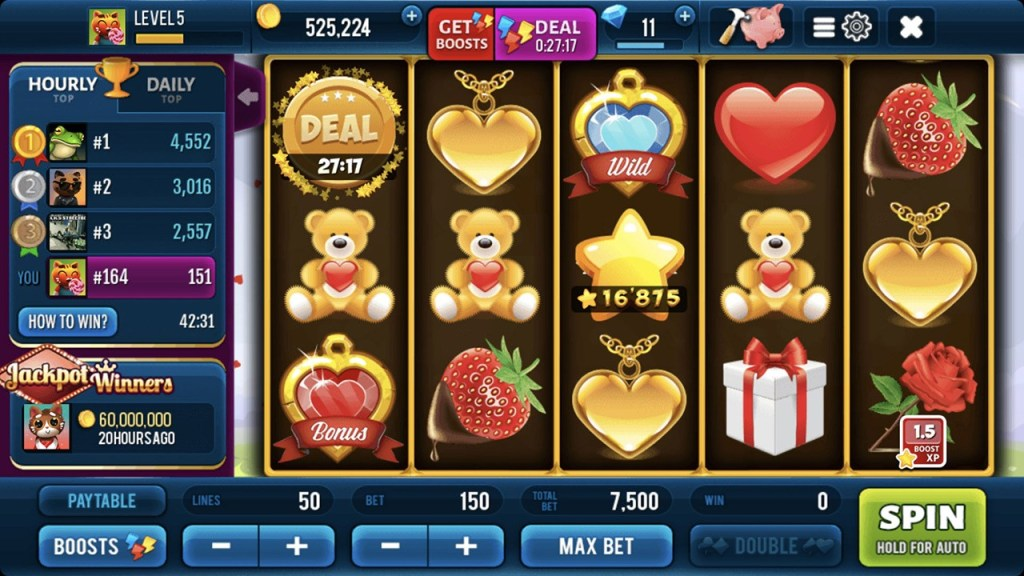 Romantic Spin Slots 7