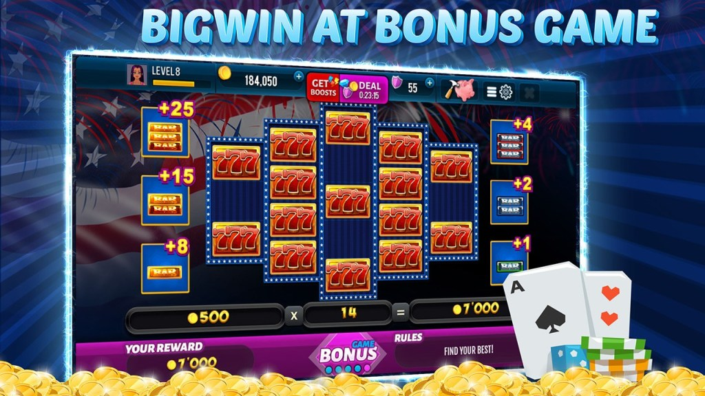 Independence Spin - Free Slot Machine Game Screen 2