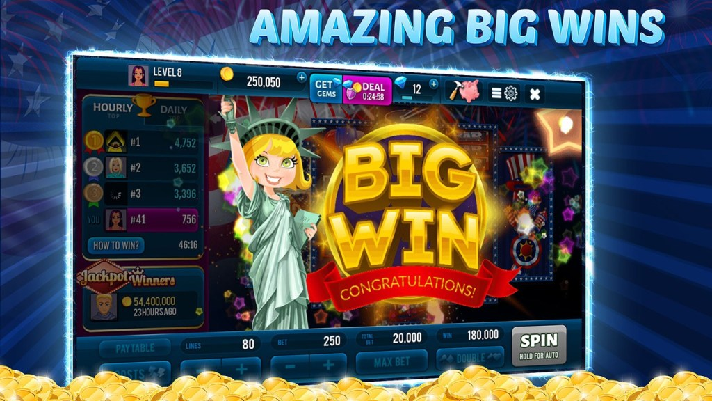 Independence Spin - Free Slot Machine Game Screen 4