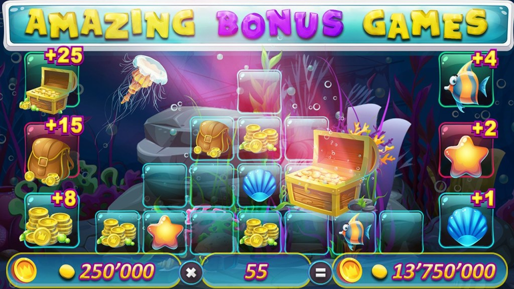 Treasury of Atlantis - Free Slot Machine Screen 3
