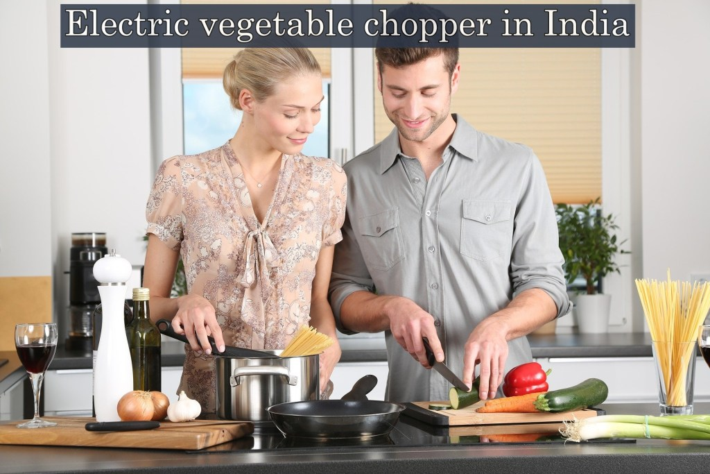 Electric vegetable chopper in India