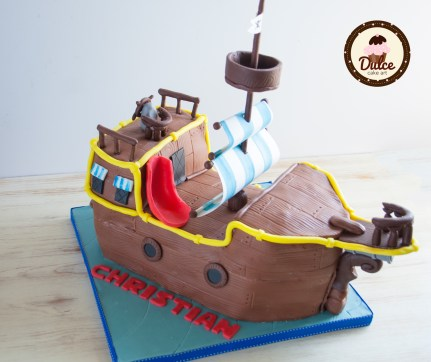 Torta nave pirata