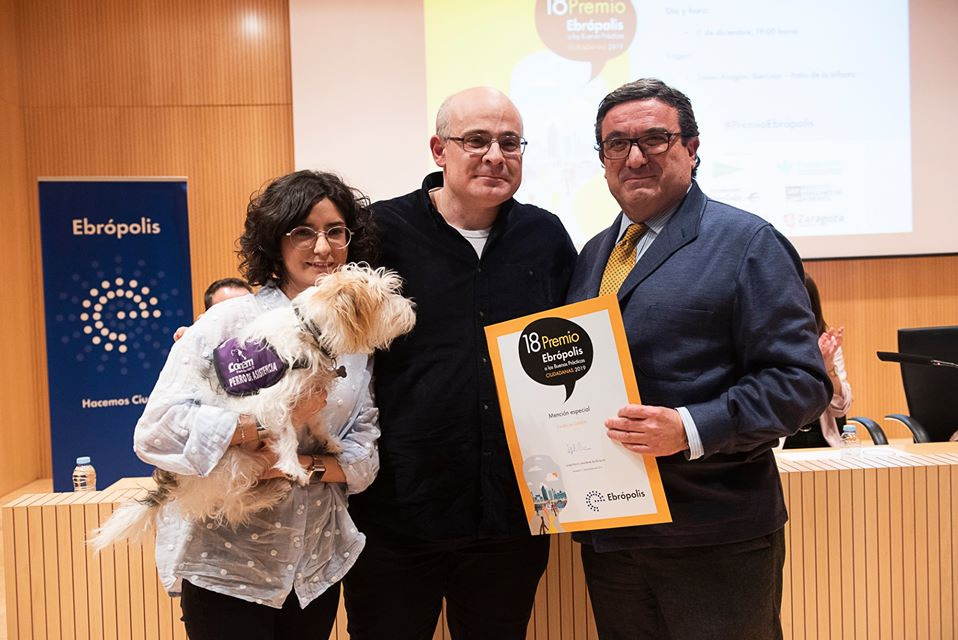 La fundación CANEM, en los Premios Ebrópolis 2019.