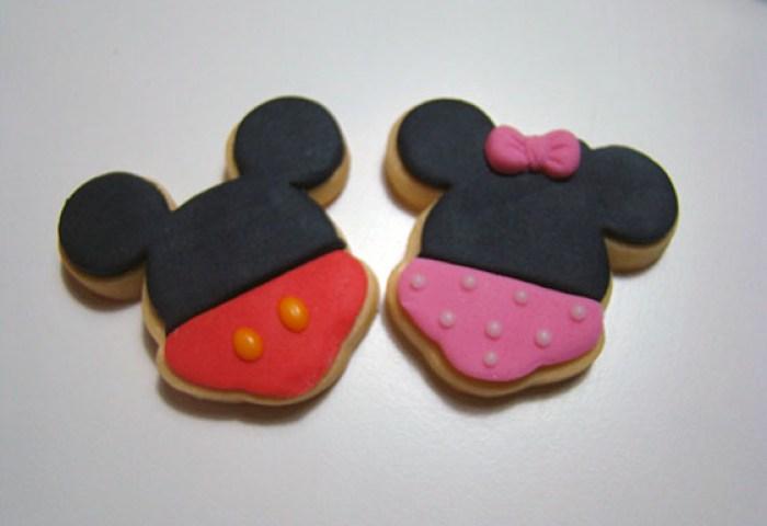 Galletas Mickey Mouse Y Minnie Dulces Modelados