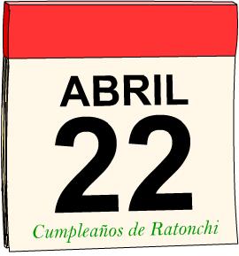 ¡Cumpleaños de Ratonchi!