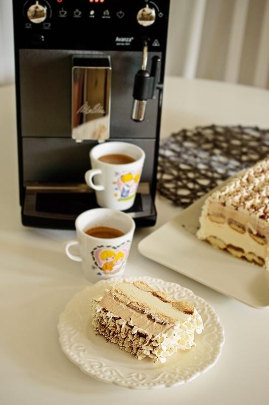 Tort de inghetata cu cafea