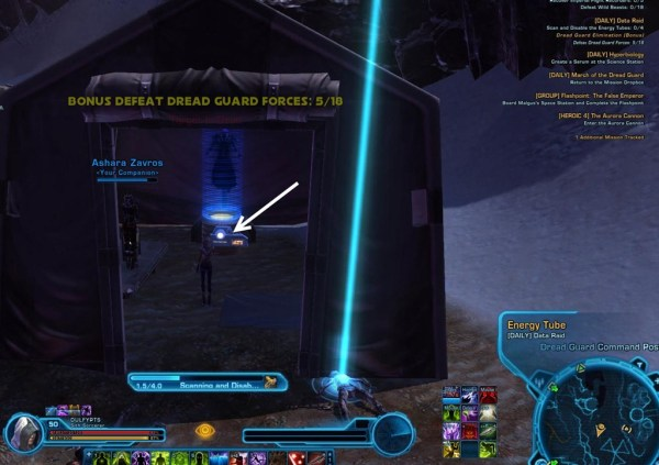 SWTOR patch 1.5 Section X dailies guide - Dulfy