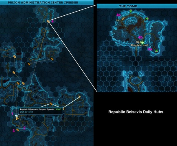 SWTOR Dailies and PvE Endgame gearing in 1.5 - Dulfy
