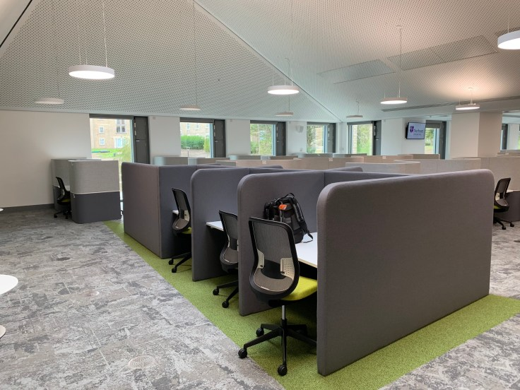 Teaching and Learning Centre: desks and seating