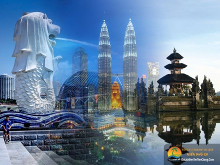 Tour du lịch Singapore - Malaysia - Indonesia