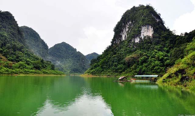 Hồ Thăng Hen, Cao Bằng
