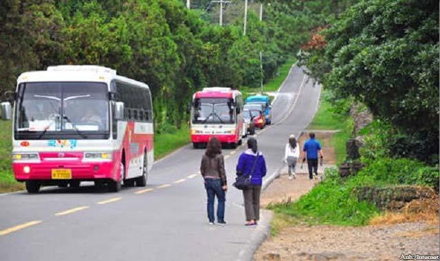 """Tìm hiểu sự kỳ bí """"con đường ma"""" ở đảo Jeju Hàn Quốc"""