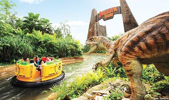 Singapore Kỳ Thú - Công viên Kỷ Jurassk