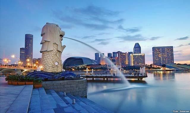Tượng Sư Tử Merlion Singapore