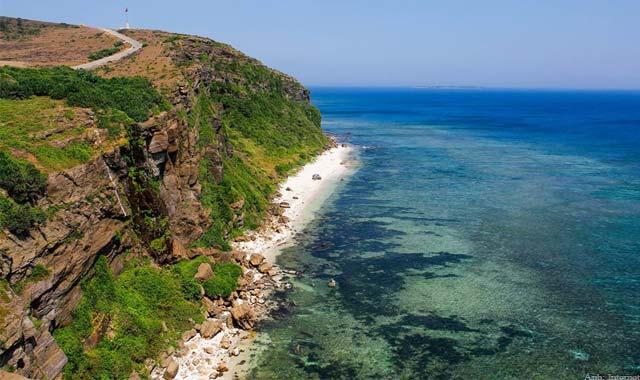 Vẻ đẹp hùng vĩ và choáng ngợp trên đảo Lý Sơn