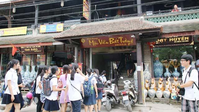 Tham quan mua sắm ở làng gốm Bát Tràng Hà Nội - Du lịch năm châu