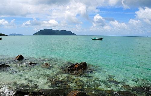 Vịnh Côn Sơn ở Côn Đảo