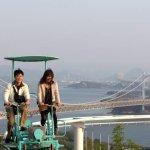 """Đến Nhật Bản cùng """"rớt tim"""" với trò chơi đạp xe giữa không trung"""