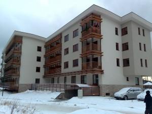 Apartmanska zgrada EGW, Bjelasnica