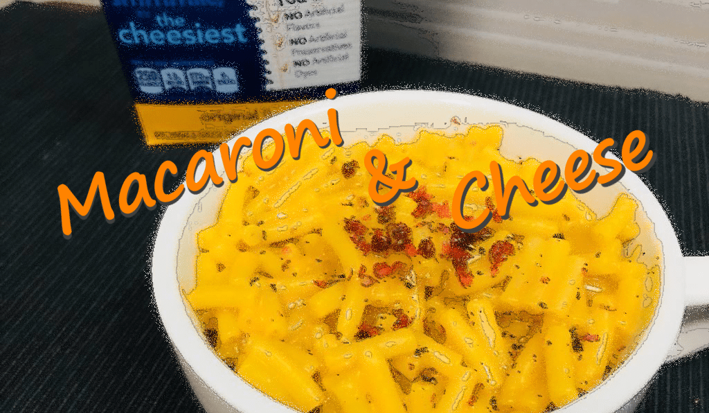 アメリカの家庭の味「マカロニ&チーズ」をつくってみた。【簡単クッキング】