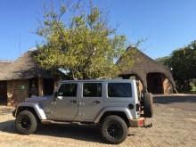 O jeep do Alex, meu guia português
