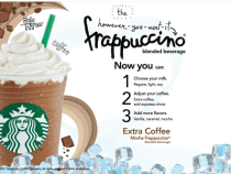 Starbuck Frappuccino Blended Beverage