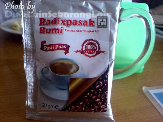 RadixPasakBumi Dulu Lain Sekarang Lain