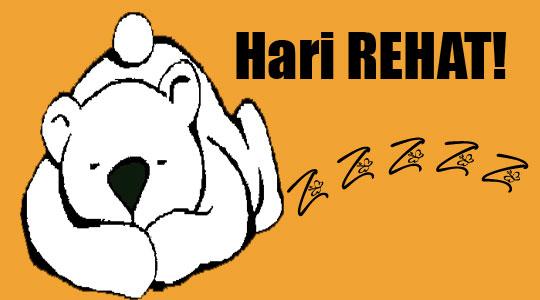 Hari-Rehat-Rest-Day