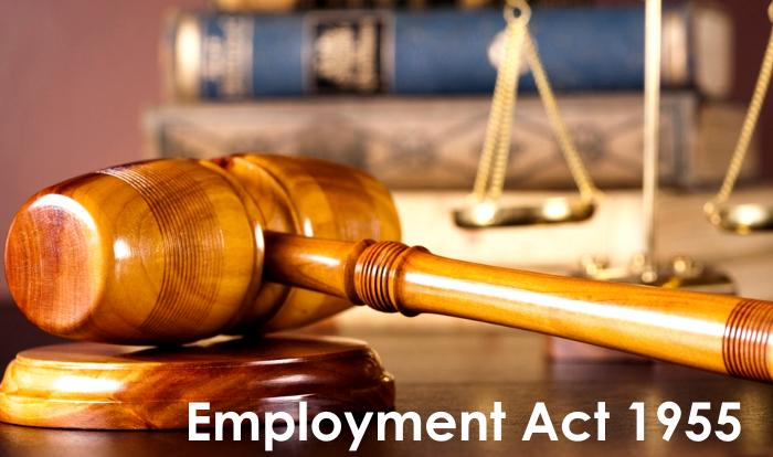 Employment Act 1955