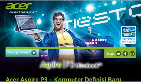 Acer Aspire P3 Ultrabook DJ