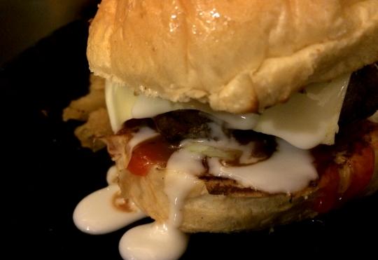 Burger Bakar Lambogeni