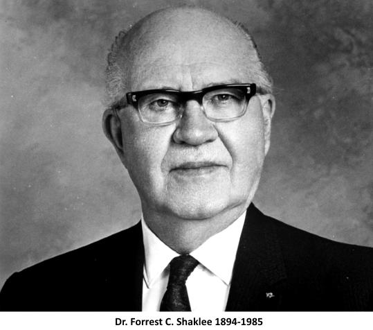 Dr. Forrest C. Shaklee