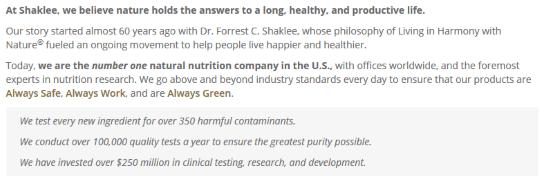 Vitamin Shaklee Bagus Untuk Kesihatan Anda 3