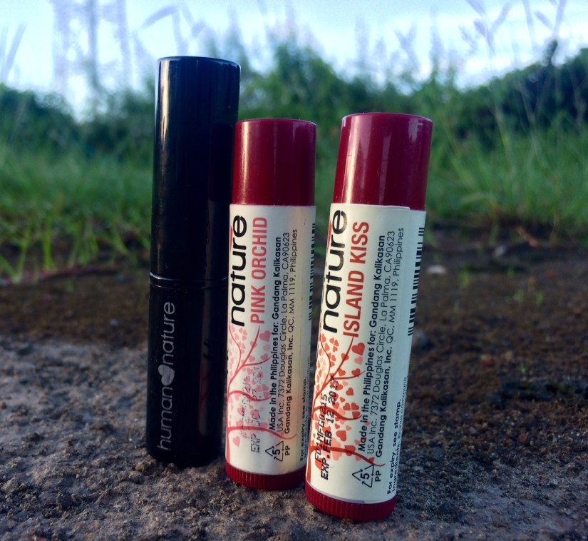 Mineral Lipstick and Tinted Lip Balms from Human Nature