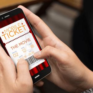 Online movie tickets