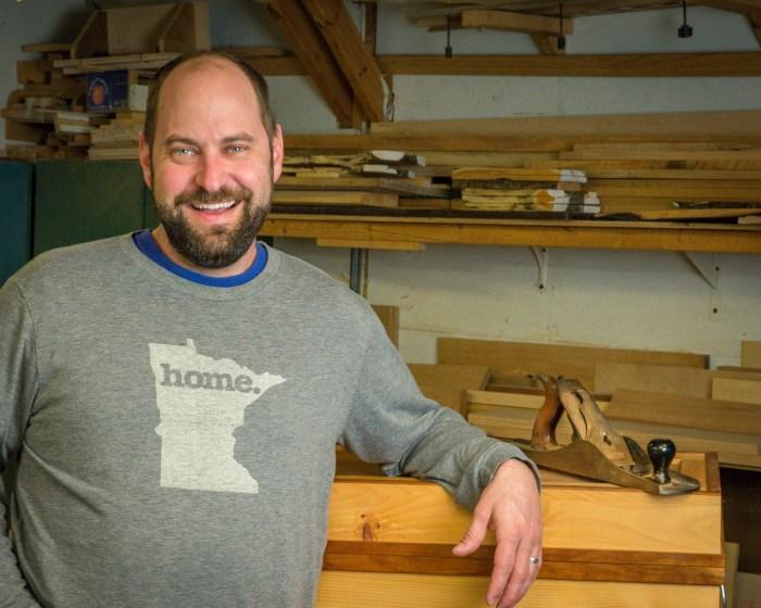 Duluth Folk School Instructor Josh Bailly