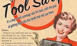 Duluth Folk School Tool Swap