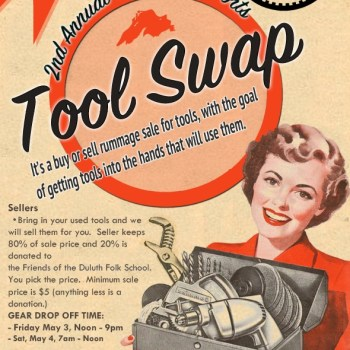 Duluth Folk School Tool Swap