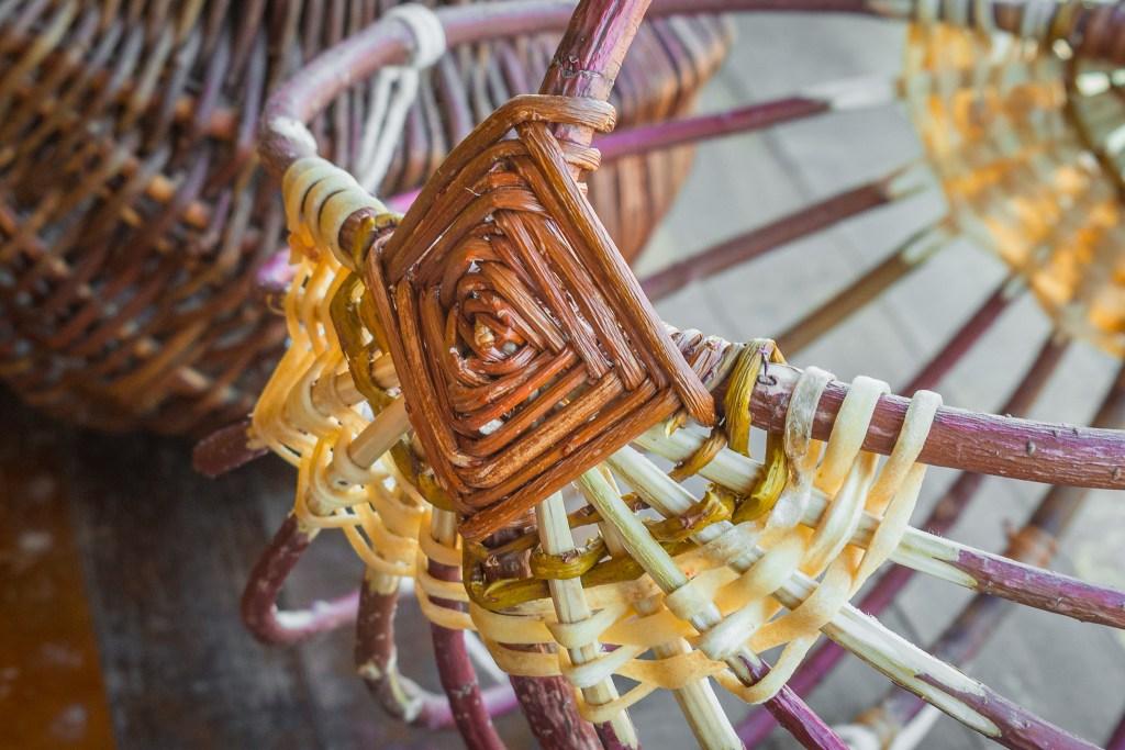 Appalachian Egg Basket at the Duluth Folk School