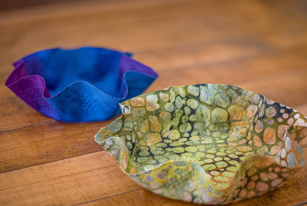 Sculpted Fabric Bowl Class at the Duluth Folk School