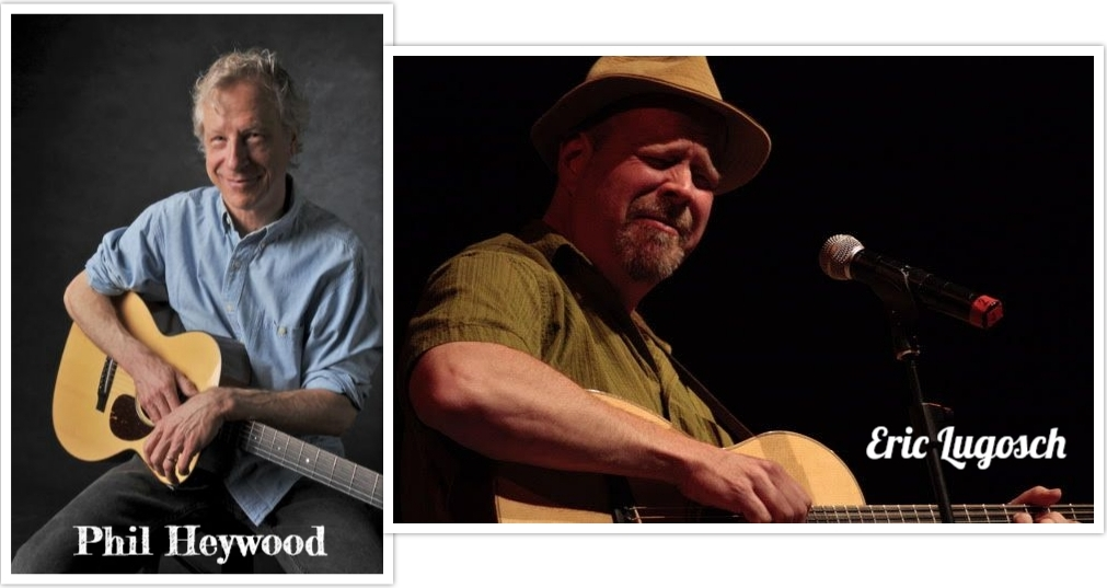 Phil Heywood and Eric Lugosch at the Duluth Folk School